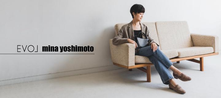 EVOL  mina yoshimoto  コラボローファー本日発売!!